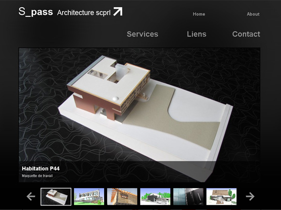 S Pass Architecture, homepage